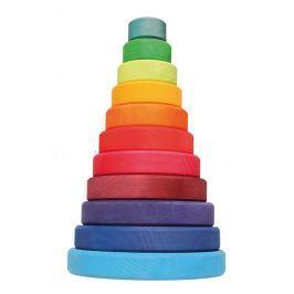 Duża wieża Grimm's - kolorowa - 11 elementów
