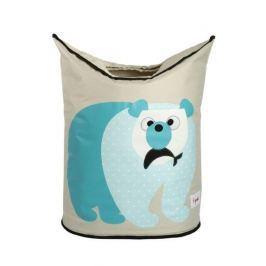 Kosz na pranie - miś polarny