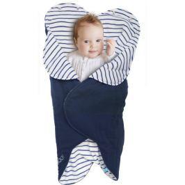 Otulacz-śpiworek Fleur Wallaboo - Blue striped