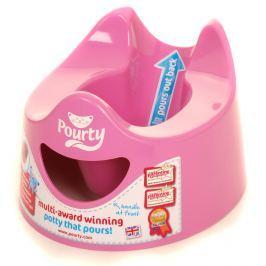 Sprytny nocniczek Pourty różowy
