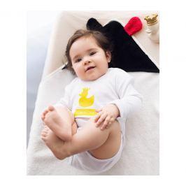 Bambusowy ręcznik niemowlęcy z uszkami MR B (85x85)