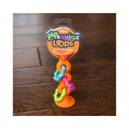 Squigz Bobo grzechotka - pomarańczowa