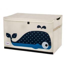 Duże pudło zamykane - wieloryb