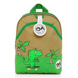 Plecak Zip&Zoe Mini ze smyczą - Dino Palm (1-3lata)