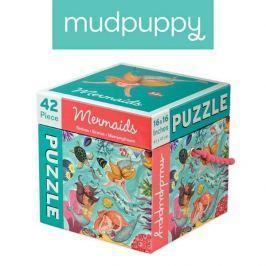 Puzzle Mudpuppy - syreny (42 elem.)