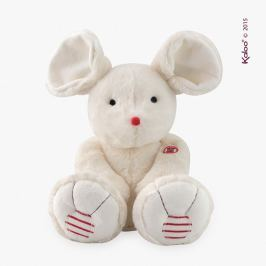 Kaloo Rouge - Myszka kremowa mała 19 cm