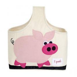 Organizer z rączką - świnka