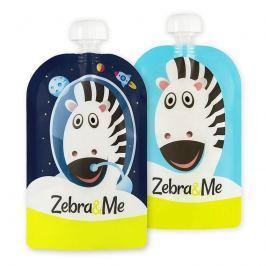 Saszetki wielorazowe do karmienia Zebra&Me - astro (2 szt.)