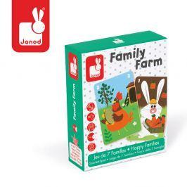 Gra karciana Janod - Rodziny na farmie (3-7 l)