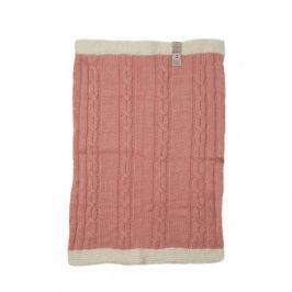 Duży koc tkany Lodger Dreamer - pink (100x75cm)