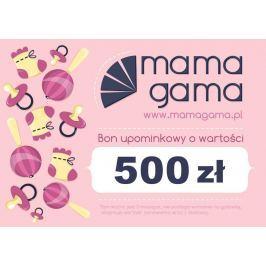 Karta podarunkowa o wartości 500 zł różowa