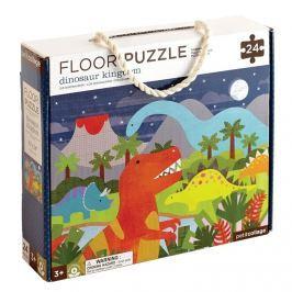 Puzzle podłogowe Petit Collage - dinozaur (3+)