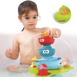Fontanna z łódeczkami - zabawka do kąpieli