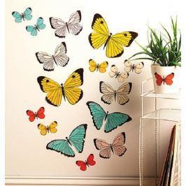 Naklejki naścienne Wallies - pastelowe motyle