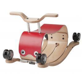 Flip - bujaczek i jeździk 2w1 - czerwony