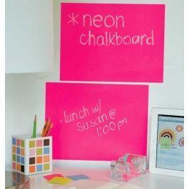 Naklejki naścienne Wallies - tablica kredowa Różowy neon