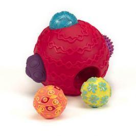 Kula sensoryczna z piłkami B.Toys - Ballyhoo Balls