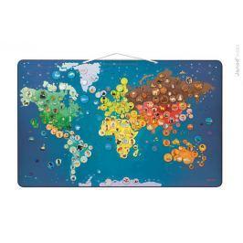 Puzzle magnetyczne - zwierzęta świata