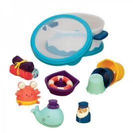 Zestaw zabawek do kąpieli dla maluchów B.Toys - Wee B.Splashy