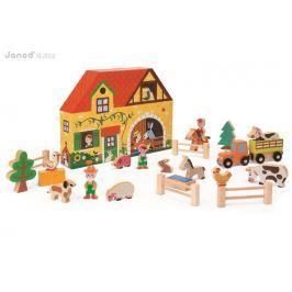 Farma - drewniany zestaw story box
