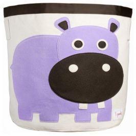 Kosz na zabawki - hipopotam