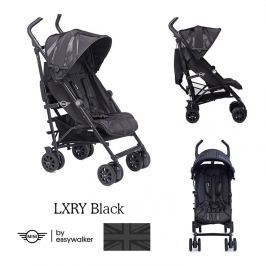 Wózek spacerowy MINI Buggy + by Easywalker  - LXRY Black