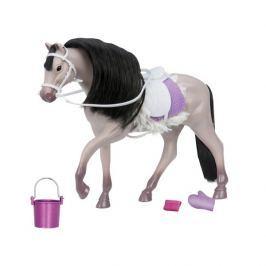 Koń z akcesoriami Lori - szary Andalusian