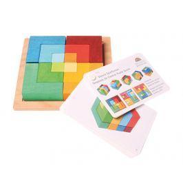 Kwadrat kreatywności Grimm's - tęczowe kolory