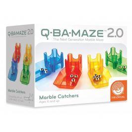 Zestaw uzupełniający Q-Ba-Maze - Marble Catchers (łapacze kulek)
