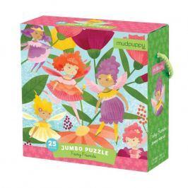 Puzzle Jumbo Mudpuppy - wróżki (25 dużych elem.)