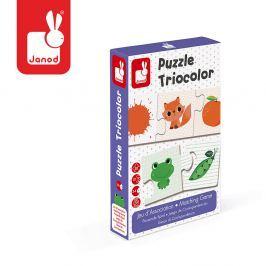 Puzzle trzyczęściowe 30 elem. - kolory