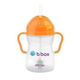Innowacyjny kubek-niekapek b.box neon - pomarańczowy