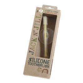 Silikonowa szczoteczka do zębów - z blokadą (1- 3 r. ż.)