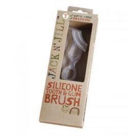 Silikonowa szczoteczka do mycia ząbków i masażu dziąseł (1-4 l)