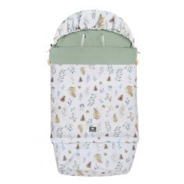Śpiwór nieprzemakalny wiosenno-letni Samiboo Superb z regulowaną długością i grubością - leśny+khaki