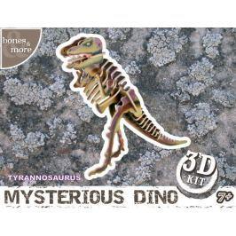 Puzzle 3D - drewniany model - Tyranosaur