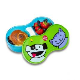 Pojemnik na drugie śniadanie - piesek i kotek