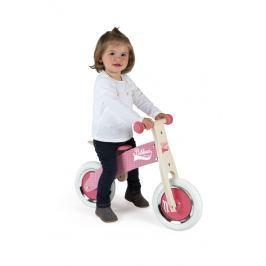 Rowerek biegowy Janod Little Bikloon 2+ różowy