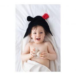 Bambusowy ręcznik dziecięcy z uszkami MR B (130x65)