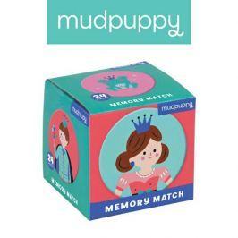 Gra Mini Memo Mudpuppy - księżniczka