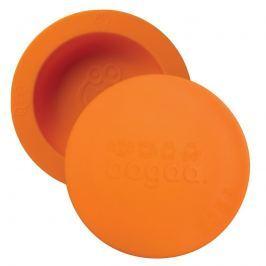 Silikonowa miseczka z pokrywką Oogaa - Orange Bowl & Lid