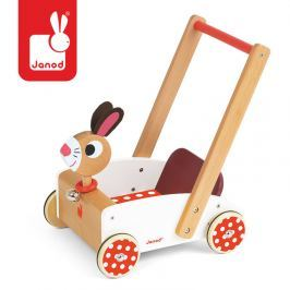 Wózek - chodzik Janod - szalony królik