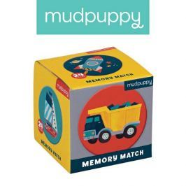 Gra Mini Memo Mudpuppy - środki transportu