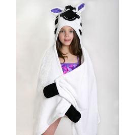 Ręcznik z kapturkiem - zebra Ziggy