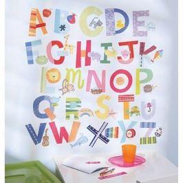 Naklejki naścienne Wallies - zabawny alfabet