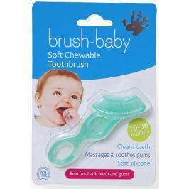 Szczoteczka-gryzak do mycia ząbków i masażu dziąseł (10-36m.)