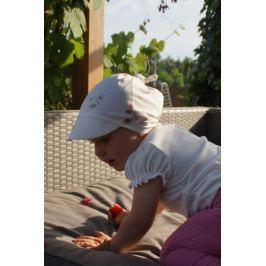 Bambusowa czapeczka z daszkiem Samiboo - Maliny