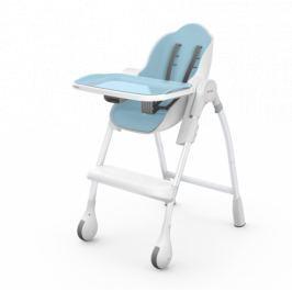 Krzesełko do karmienia  i leżaczek 2w1 Coocoon Delicious Oribel  - błękitne
