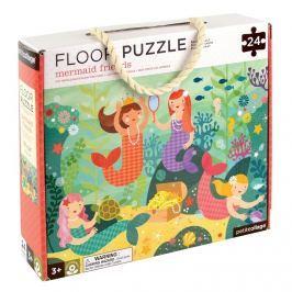 Puzzle podłogowe Petit Collage - syrenki  (3+)