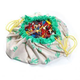 Worek na zabawki Play&Go - kaktusy